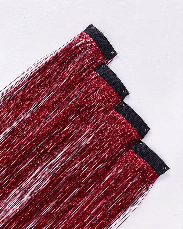 Phoenix Tinsel Hair Extensions