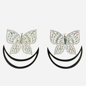 Social Butterfly Jewel Pasties