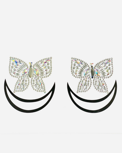 Social Butterfly Jewel Pasties - Lunautics