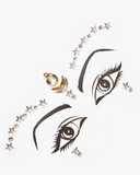 Silver and Gold Star Face Jewel - Starstruck | Lunautics