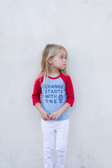 C.S.W.O. Toddler Raglan