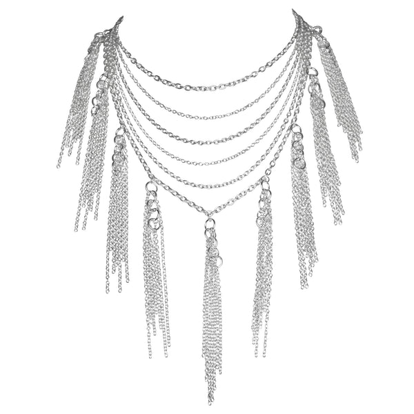 Sterling Tassel Necklace