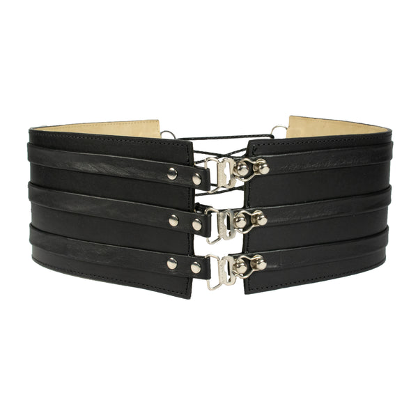 Ceridwen Leather Corset Belt