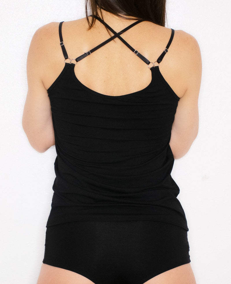 Beyond Basic Cami with Crisscross Straps