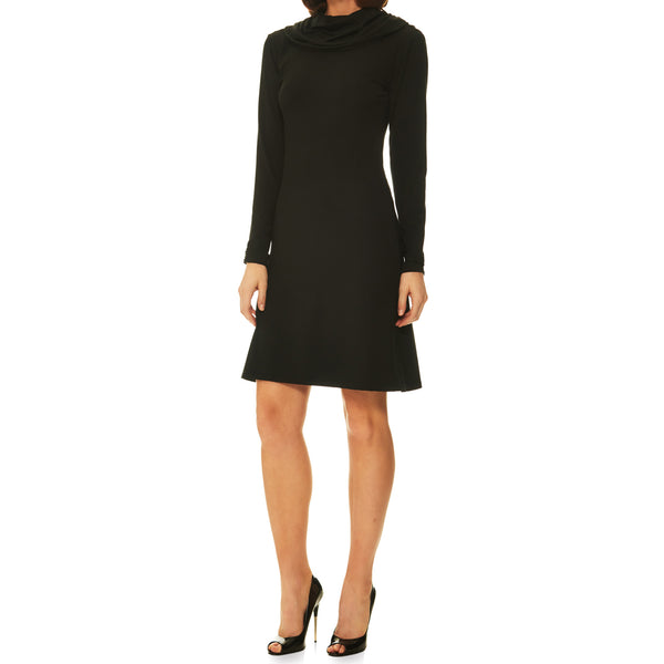 Dana A-Line Turtleneck Dress