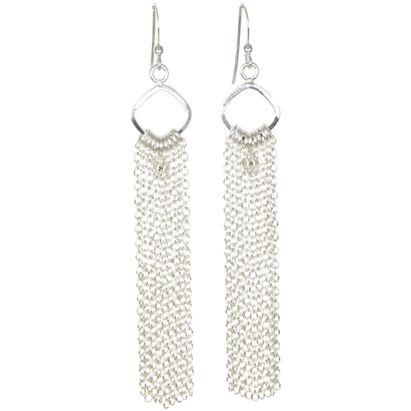 Sterling Fringe Earrings