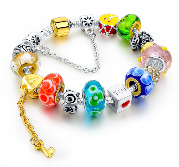Pulseras Multi Colored Funky Charm