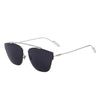 Rimless Cat Eye Sunglasses