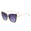 Square Cat Eyed Sunglasses