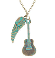 Charming Guitarist Pendants