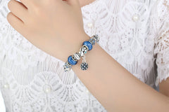 Blue Water Bangle