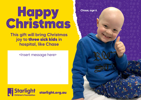 Christmas Joy for Three Sick Kids in Hospital