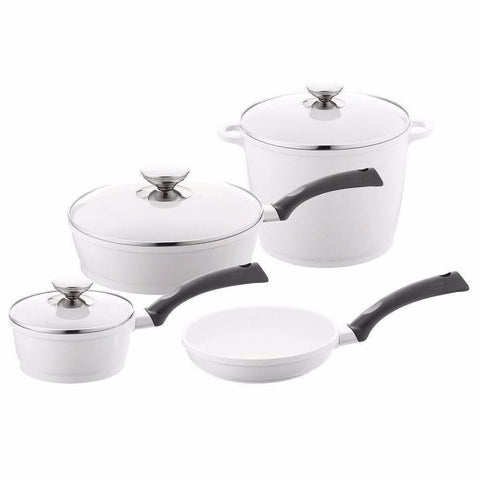 Berndes Signocast Pearl 7 Pc. Pot Set-697600,The Kitchen's Edge.