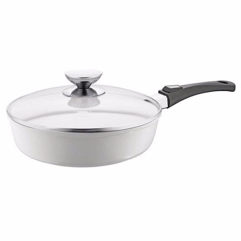 Berndes Vario Click Induction Pearl Saute Pan & Lid-632128,The Kitchen's Edge.