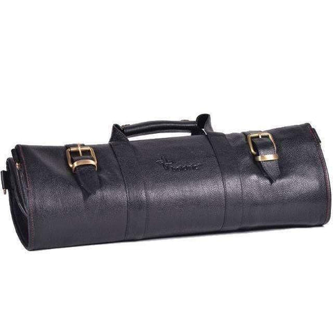 Boldric 17 Slot Leather Knife Bag-LK124,The Kitchen's Edge.