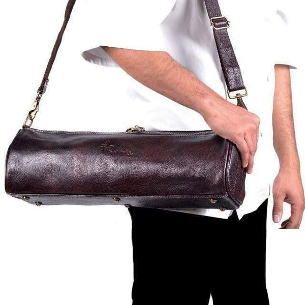 Boldric Leather Duffle Knife Bag-LD113,The Kitchen's Edge.