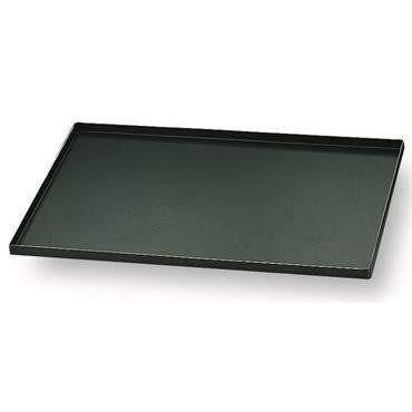 Matfer Bourgeat Blue Steel Oven Baking Sheet With Straight Edges-455001,The Kitchen's Edge.