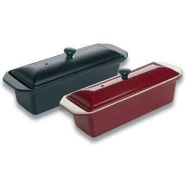 Matfer Bourgeat Le Chasseur Enameled Cast Iron Rectangular Terrine-071070,The Kitchen's Edge.