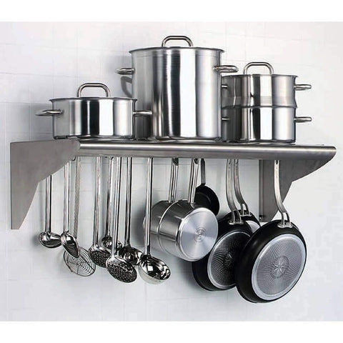 Matfer Bourgeat Wall Mounted Utensils Shelf-845608,The Kitchen's Edge.