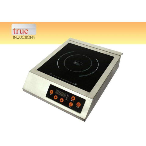 True Induction 220V 3200 Watt Commercial Single Induction Cooktop-T2-1SS,The Kitchen's Edge.