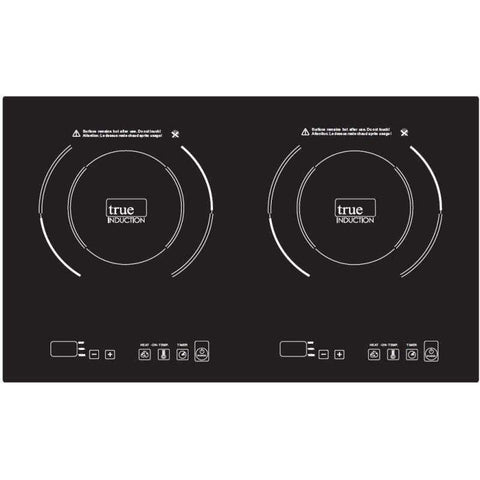 True Induction Double Burner - Counter Inset Model-TI-2B,The Kitchen's Edge.