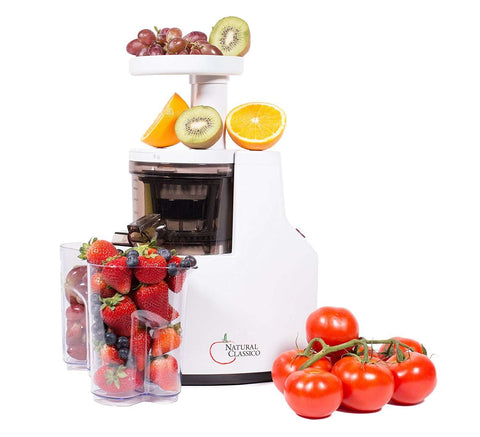 Natural Classico Electric Slow Masticating Juicer Extractor for Fruit and Vegetable-JE120-04E00,The Kitchen's Edge.