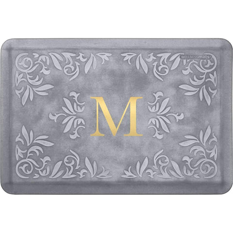 WellnessMats Anti-Fatigue Signature Collection - Heirloom-SH32WMRWGRY,The Kitchen's Edge.