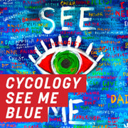 Cycology See Me Blue Uncut Sheet