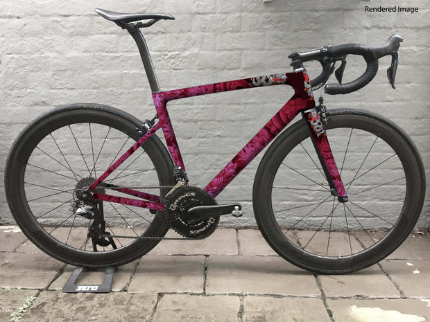 Cycology Pink Dragon Full Wrap Kit