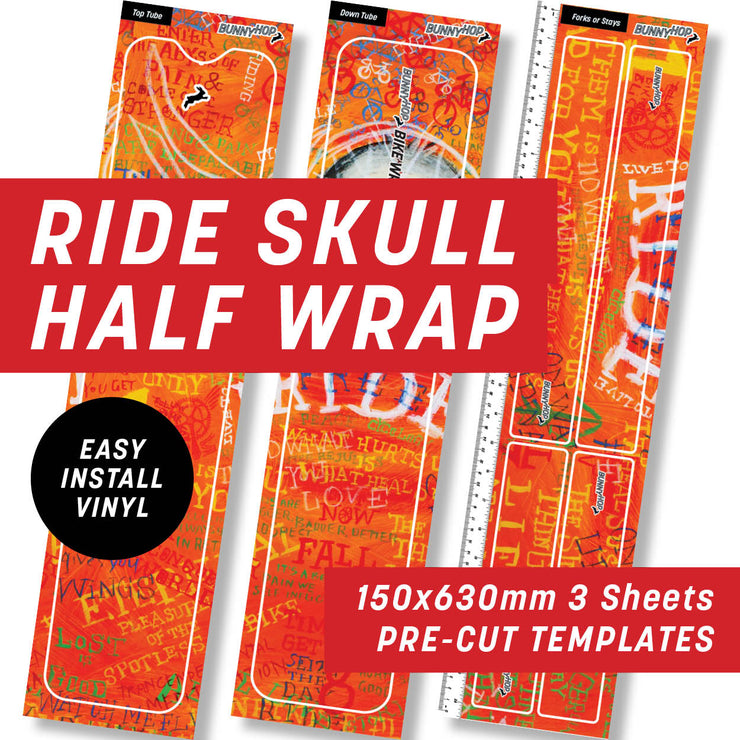 Cycology Ride Skull Half Wrap Kit