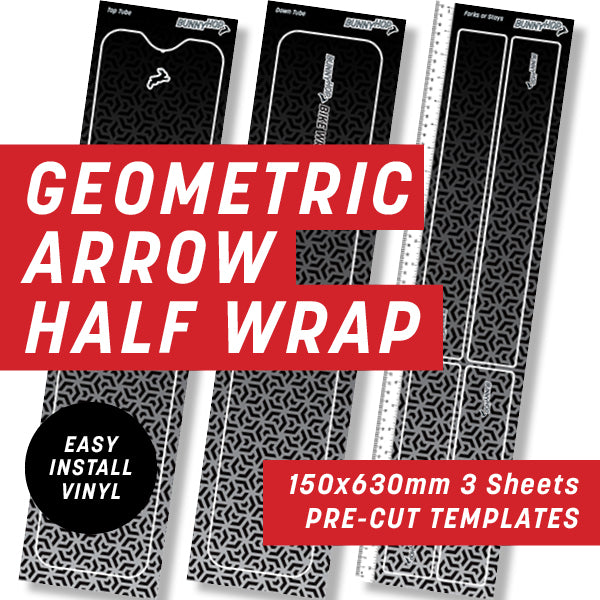 Geometric Arrow Maze Half Wrap Kit