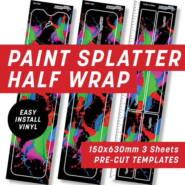 Paint Splatter Half Wrap Kit