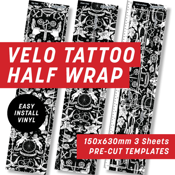 Cycology Velo Tattoo Half Wrap Kit