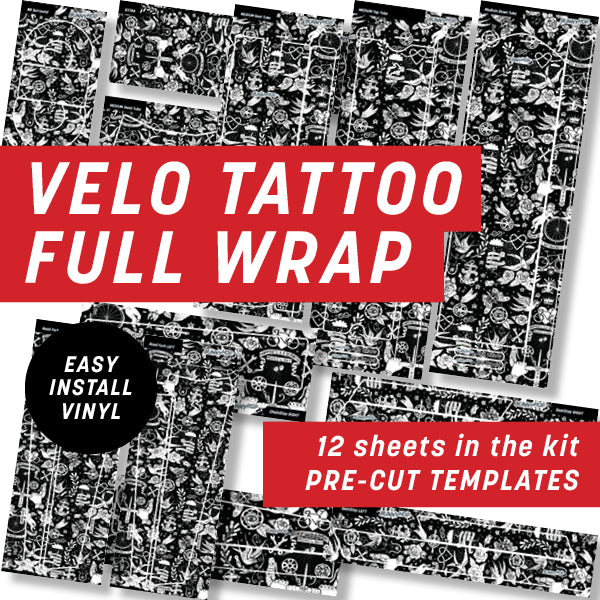 Cycology Velo Tattoo Full Wrap Kit