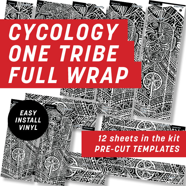 Cycology One Tribe Full Wrap Kit
