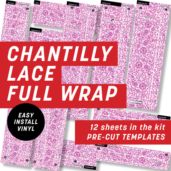 Cycology Chantilly Lace Full Wrap Kit