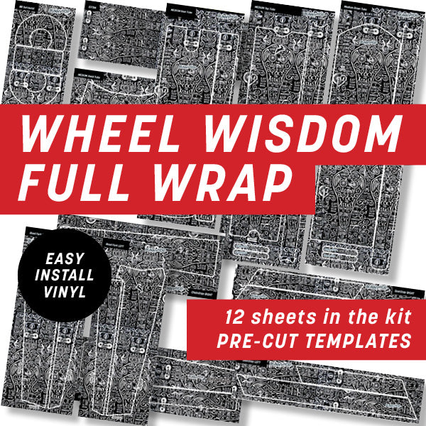 Cycology Wheel Wisdom Full Wrap Kit