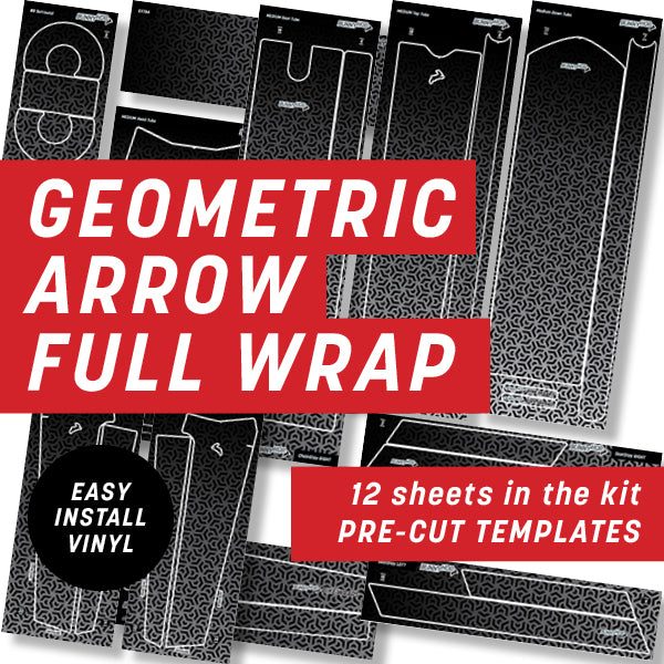 Geometric Arrow Maze Full Wrap Kit