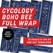Cycology BoHo Bee Full Wrap Kit