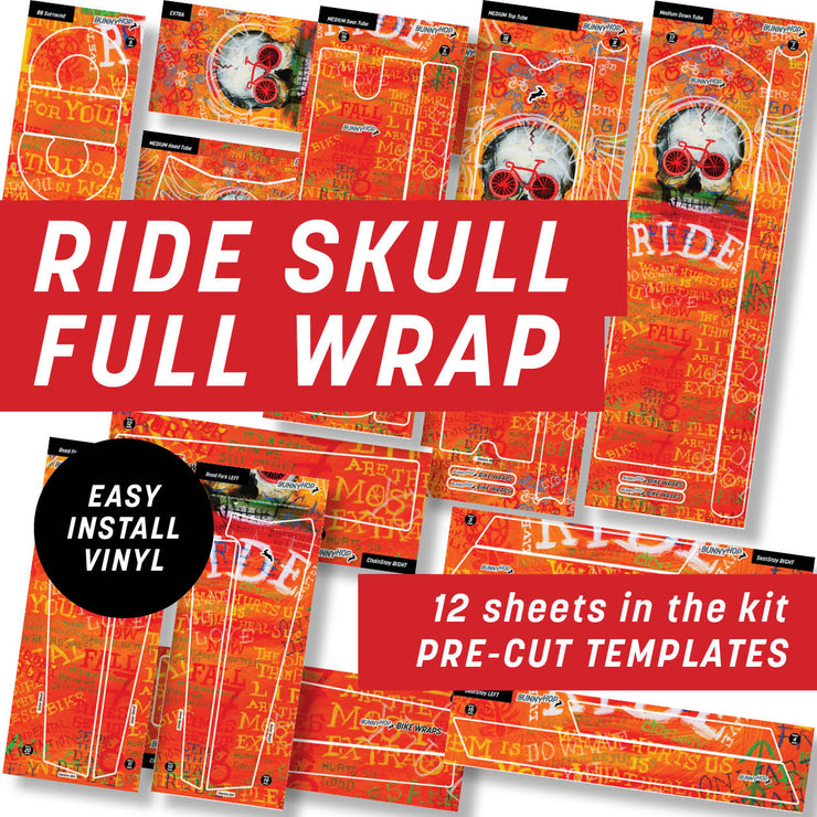 Cycology Ride Skull Full Wrap Kit