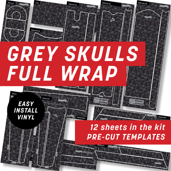 Grunge Skulls Full Wrap Kit