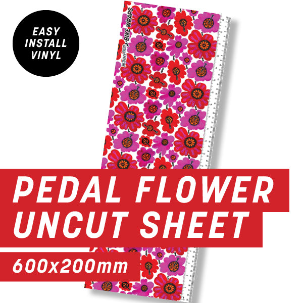 Cycology Pedal Flower Uncut Sheet