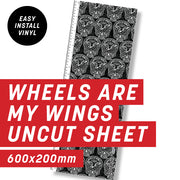 Cycology Wheels are my Wings Uncut Sheet