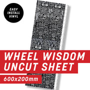 Cycology Wheel Wisdom Uncut Sheet