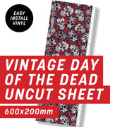 Vintage Day of the Dead Uncut Sheet