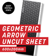 Geometric Arrow Maze Uncut Sheet