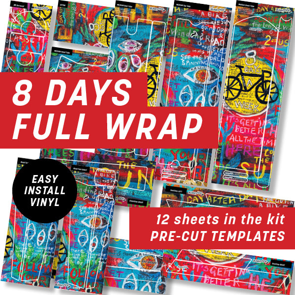 Cycology 8 Days Full Wrap Kit