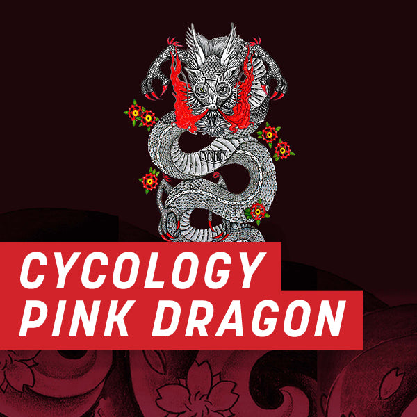 Cycology Pink Dragon Half Wrap Kit