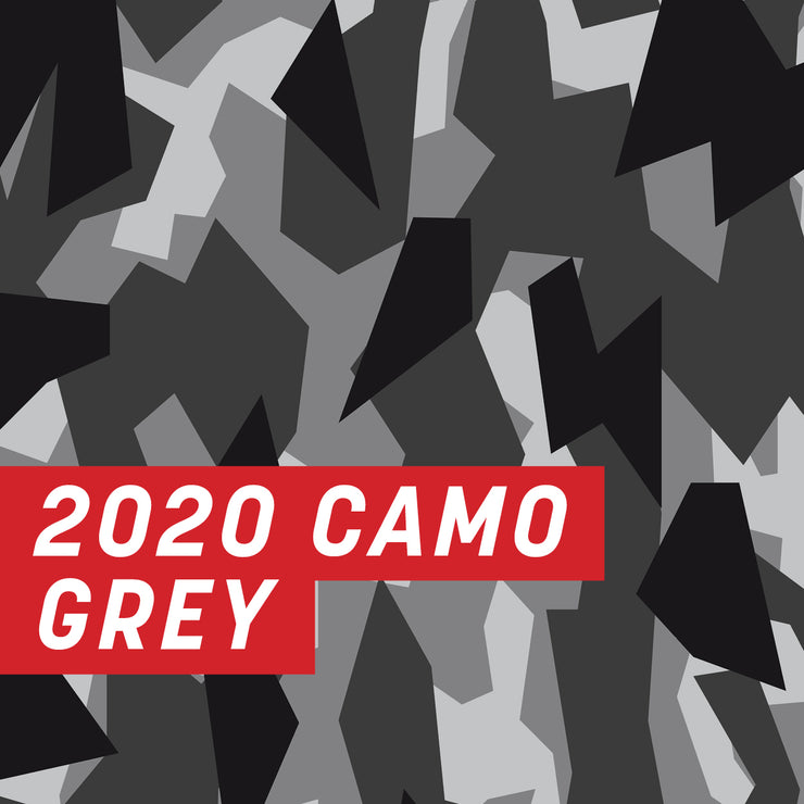 2020 Camo Grey Uncut Sheet
