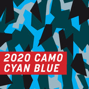 2020 Camo Cyan Blue Full Wrap Kit